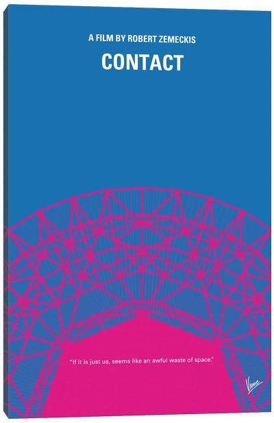 Contact Minimal Movie Poster Canvas Art Print