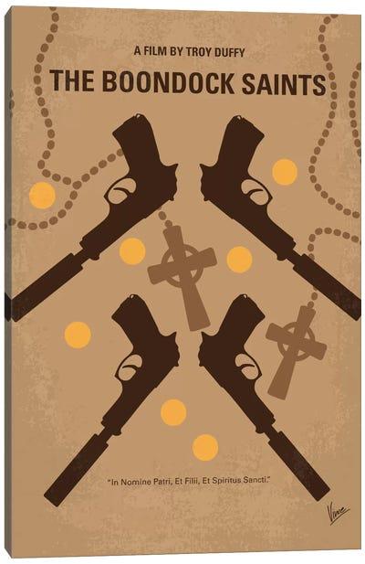 The Boondock Saints Minimal Movie Poster Canvas Art Print
