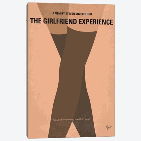 The Girlfriend Experience Minimal Movie Poster Canvas Print #CKG446} by Chungkong Canvas Artwork