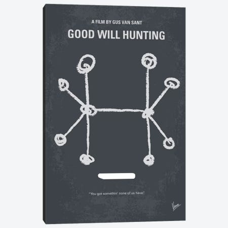 Good Will Hunting Minimal Movie Poster Canvas Print #CKG449} by Chungkong Canvas Print