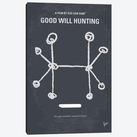 Good Will Hunting Minimal Movie Poster Canvas Print #CKG449} by Chungkong Canvas Print