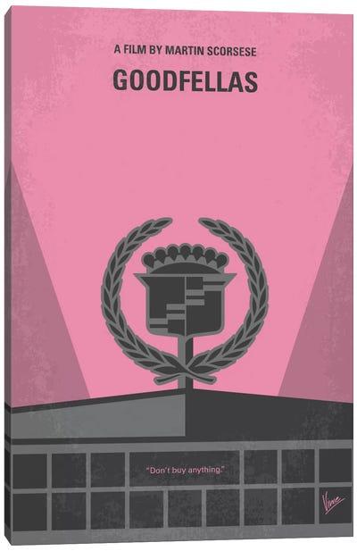 Goodfellas Minimal Movie Poster Canvas Art Print