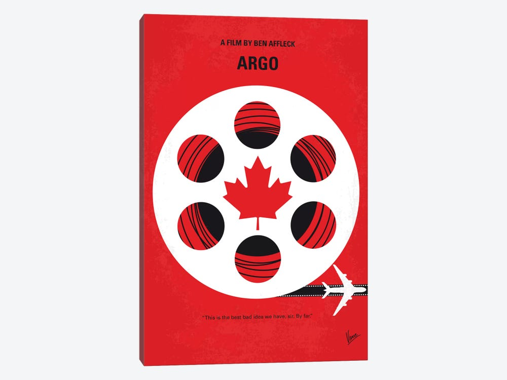 Argo Minimal Movie Poster by Chungkong 1-piece Art Print
