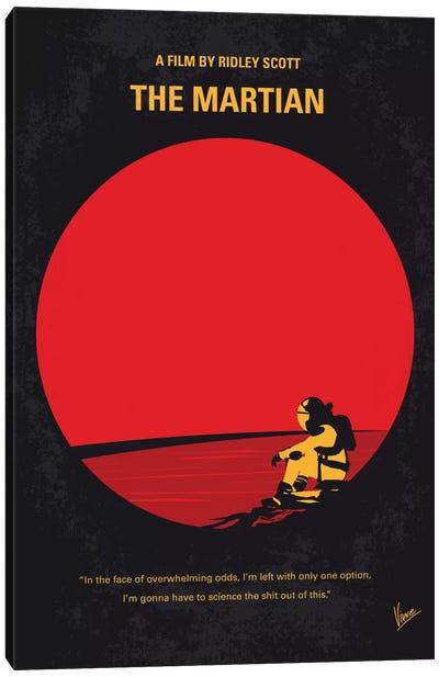 The Martian Minimal Movie Poster Canvas Art Print