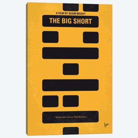 The Big Short Minimal Movie Poster Canvas Print #CKG483} by Chungkong Canvas Print
