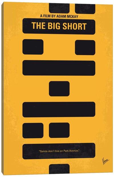 The Big Short Minimal Movie Poster Canvas Art Print
