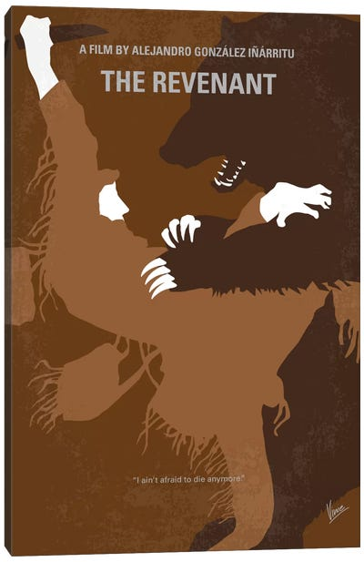 The Revenant Minimal Movie Poster Canvas Art Print