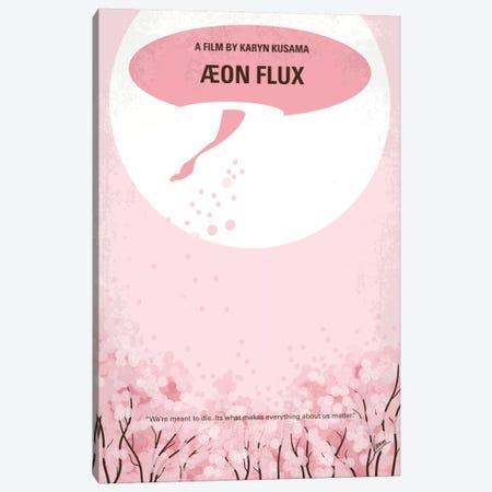 Aeon Flux Minimal Movie Poster Canvas Print #CKG486} by Chungkong Canvas Artwork