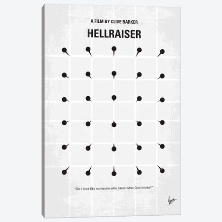 Hellraiser Minimal Movie Poster Canvas Print #CKG48} by Chungkong Art Print
