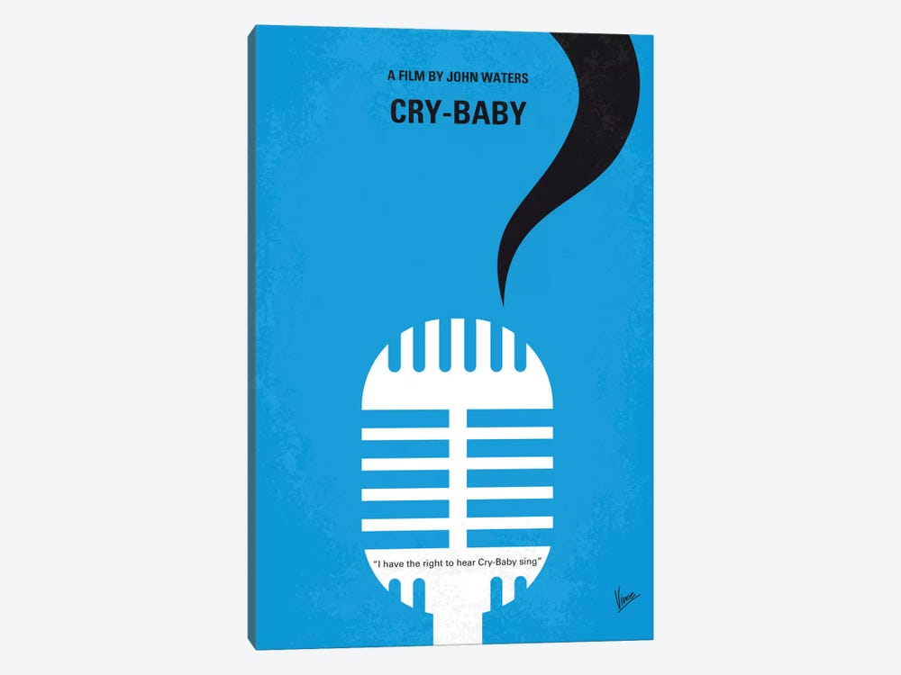 Cry-Baby Minimal Movie Poster by Chungkong 1-piece Art Print