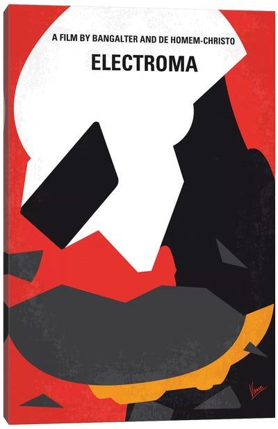 Daft Punk's Electroma Minimal Movie Poster Canvas Print #CKG518