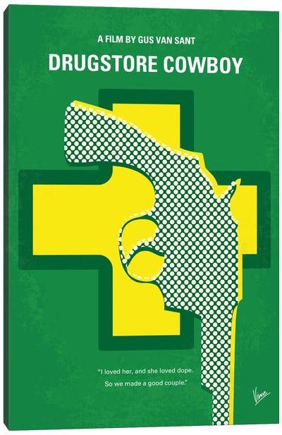 Drugstore Cowboy Minimal Movie Poster Canvas Art Print