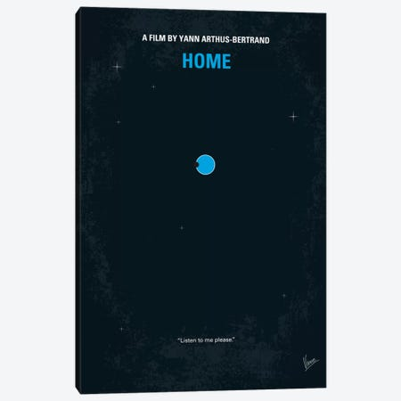 Home Minimal Movie Poster Canvas Print #CKG52} by Chungkong Canvas Artwork