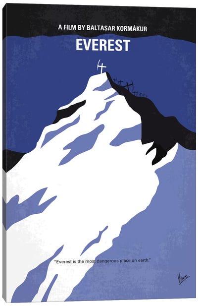 Everest Minimal Movie Poster Canvas Art Print