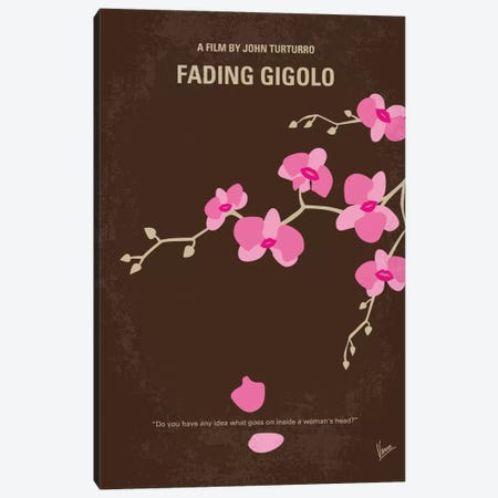 Fading Gigolo Minimal Movie Poster Canvas Print #CKG534} by Chungkong Canvas Artwork