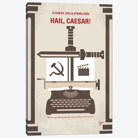Hail, Caesar! Minimal Movie Poster Canvas Print #CKG551} by Chungkong Canvas Print