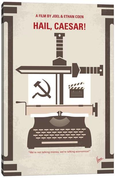 Hail, Caesar! Minimal Movie Poster Canvas Art Print