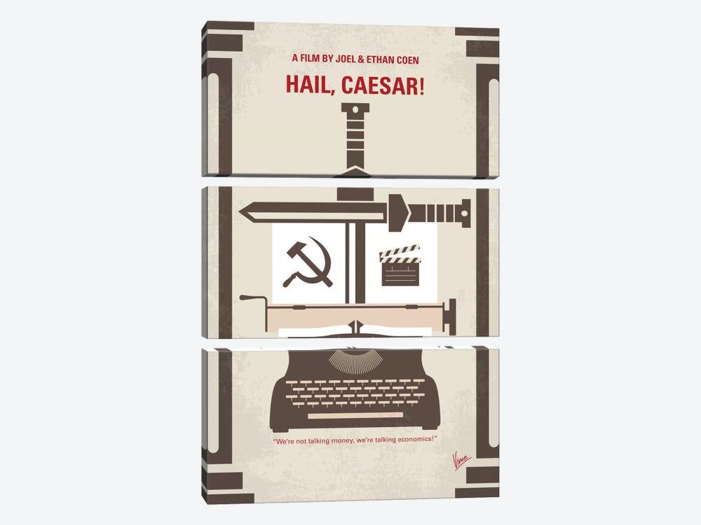 Hail, Caesar! Minimal Movie Poster by Chungkong 3-piece Art Print