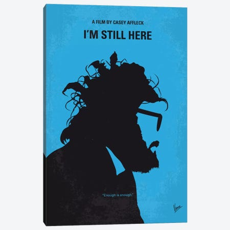 I'm Still Here Minimal Movie Poster Canvas Print #CKG564} by Chungkong Canvas Print