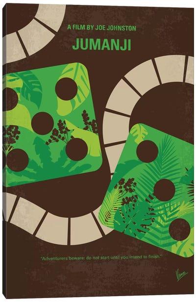 Jumanji Minimal Movie Poster Canvas Art Print