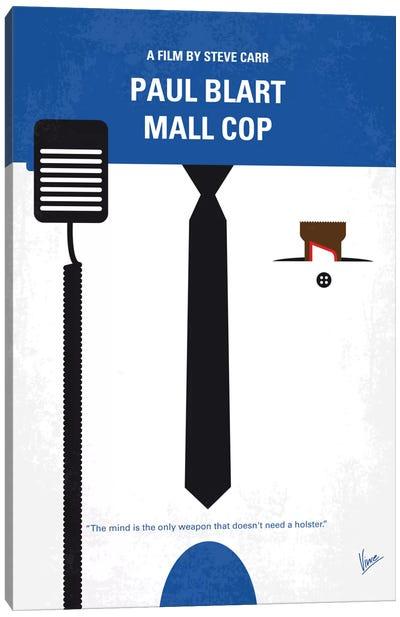 Paul Blart: Mall Cop Minimal Movie Poster Canvas Print #CKG595
