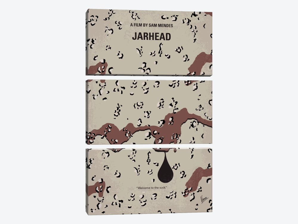 Jarhead Minimal Movie Poster by Chungkong 3-piece Art Print