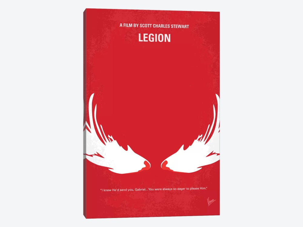 Legion Minimal Movie Poster by Chungkong 1-piece Art Print