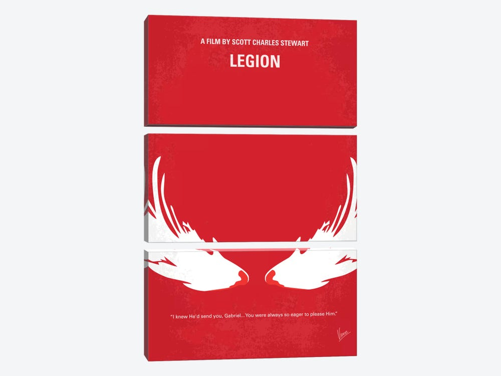 Legion Minimal Movie Poster by Chungkong 3-piece Art Print