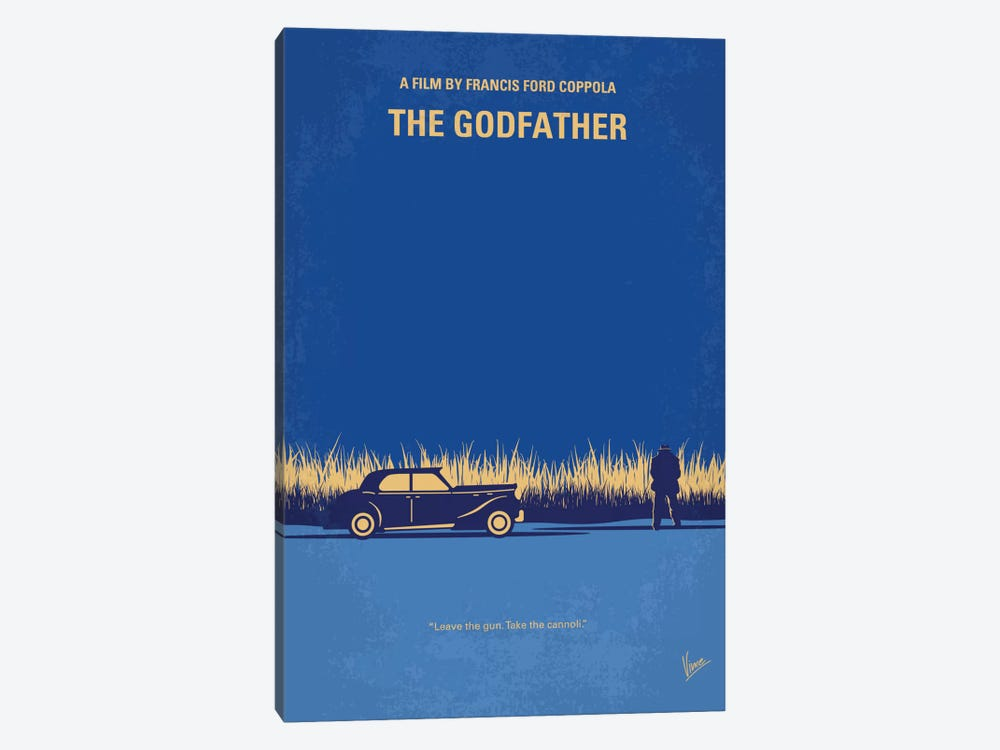 The Godfather Minimal Movie Poster by Chungkong 1-piece Art Print