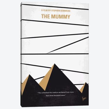 The Mummy Minimal Movie Poster Canvas Print #CKG662} by Chungkong Art Print