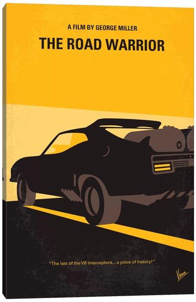 Mad Max 2 (The Road Warrior) Minimal Movie Poster Canvas Art Print