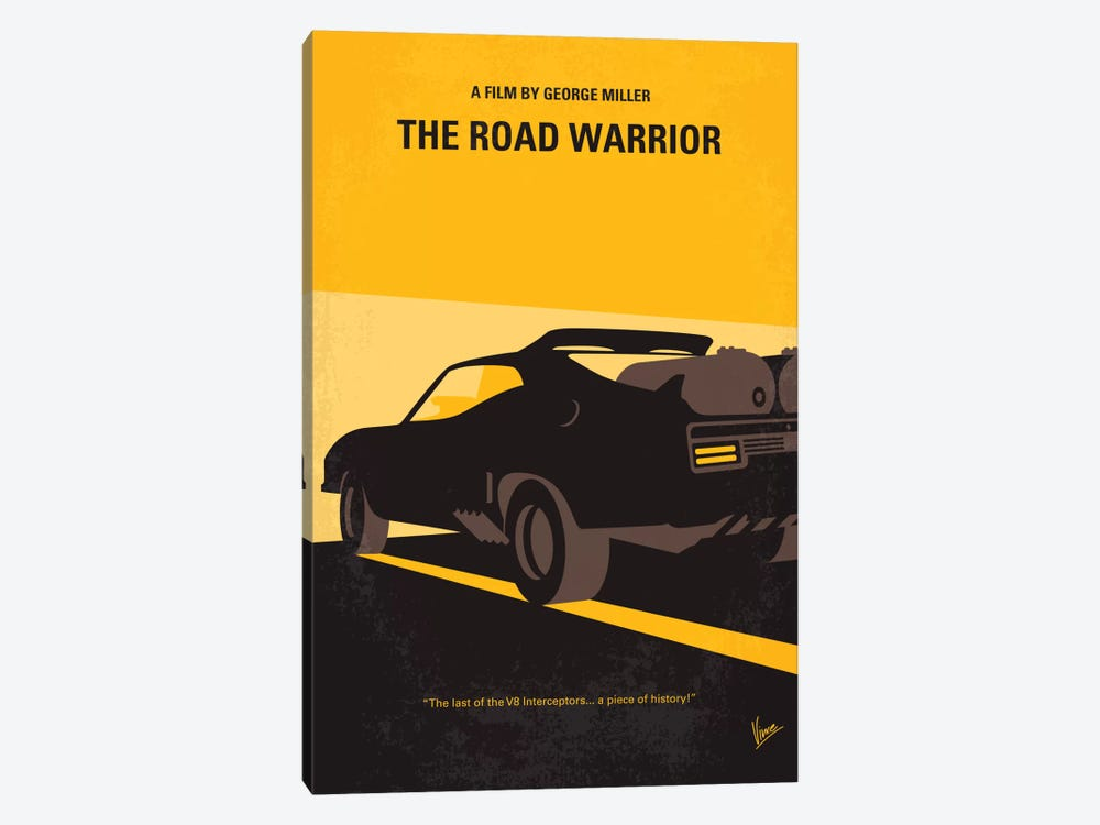 Mad Max 2 (The Road Warrior) Minimal Movie Poster by Chungkong 1-piece Art Print
