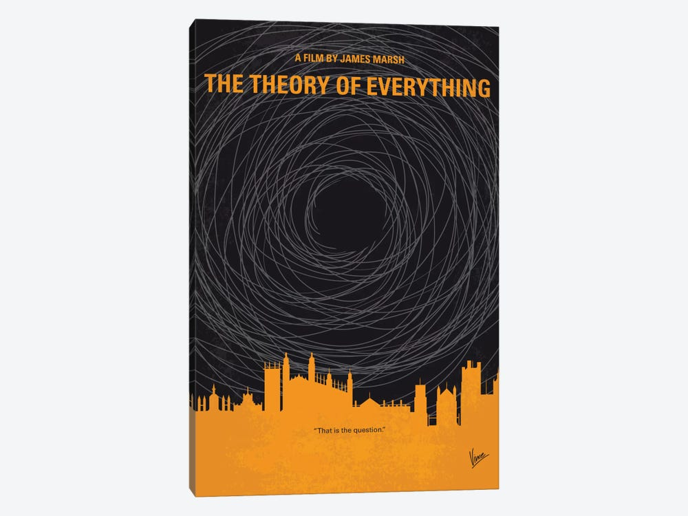 The Theory Of Everything Minimal Movie Poster by Chungkong 1-piece Art Print