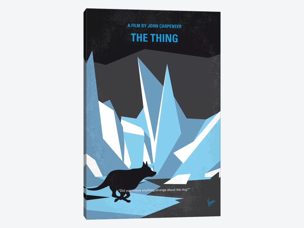 The Thing Minimal Movie Poster by Chungkong 1-piece Canvas Art