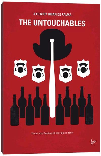 The Untouchables Minimal Movie Poster Canvas Print #CKG677