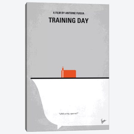 Training Day Minimal Movie Poster Canvas Print #CKG682} by Chungkong Art Print