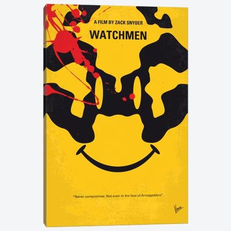 Watchmen Minimal Movie Poster Canvas Print #CKG690} by Chungkong Canvas Art