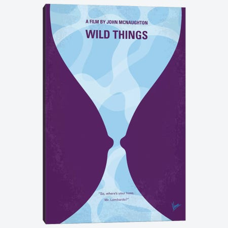 Wild Things Minimal Movie Poster Canvas Print #CKG693} by Chungkong Canvas Artwork