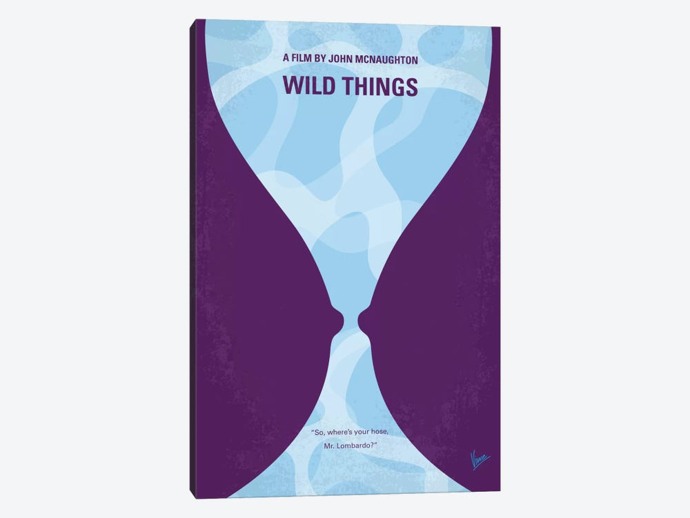 Wild Things Minimal Movie Poster by Chungkong 1-piece Canvas Print