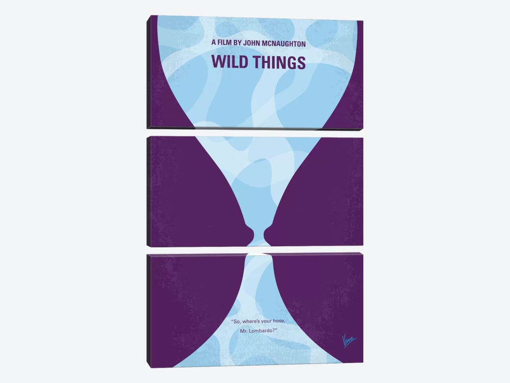 Wild Things Minimal Movie Poster by Chungkong 3-piece Art Print