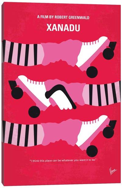 Xanadu Minimal Movie Poster Canvas Art Print