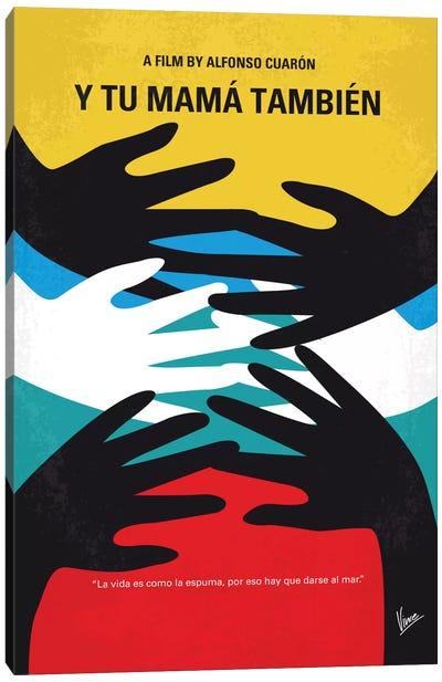 Y Tu Mama Tambien Minimal Movie Poster Canvas Art Print