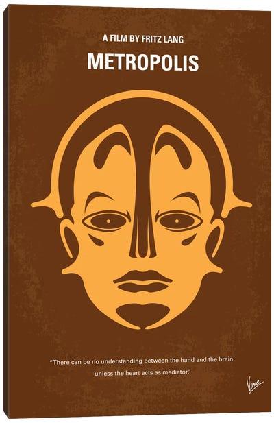 Metropolis Minimal Movie Poster Canvas Print #CKG69