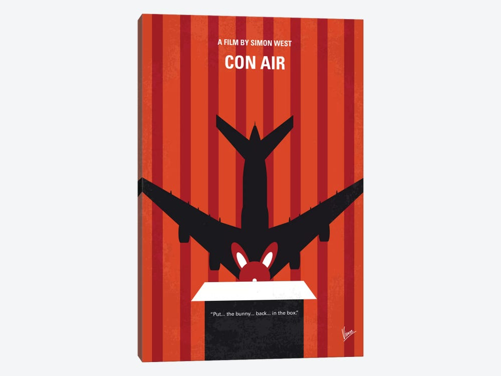Con Air Minimal Movie Poster by Chungkong 1-piece Art Print