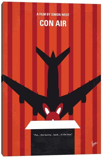 Con Air Minimal Movie Poster Canvas Art Print