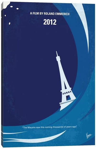 2012 Minimal Movie Poster Canvas Art Print