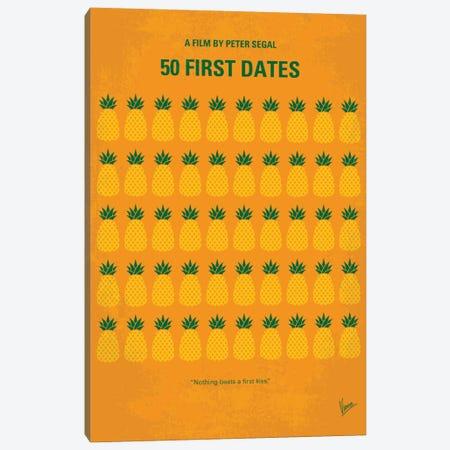 50 First Dates Minimal Movie Canvas Print #CKG704} by Chungkong Canvas Art Print