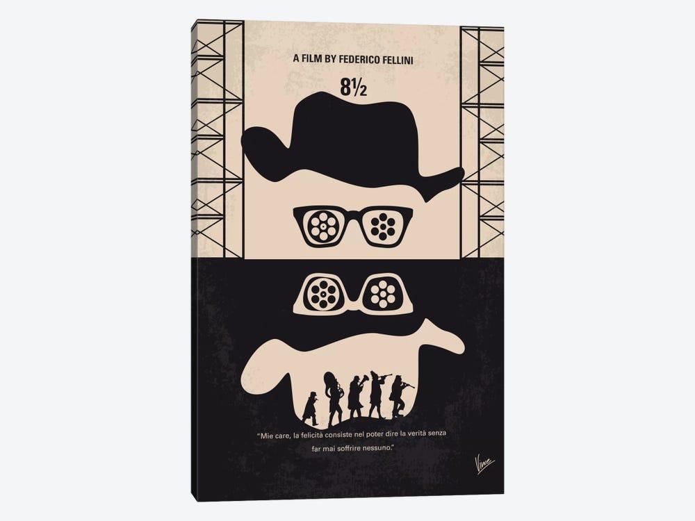 8 1/2 Minimal Movie Poster by Chungkong 1-piece Art Print