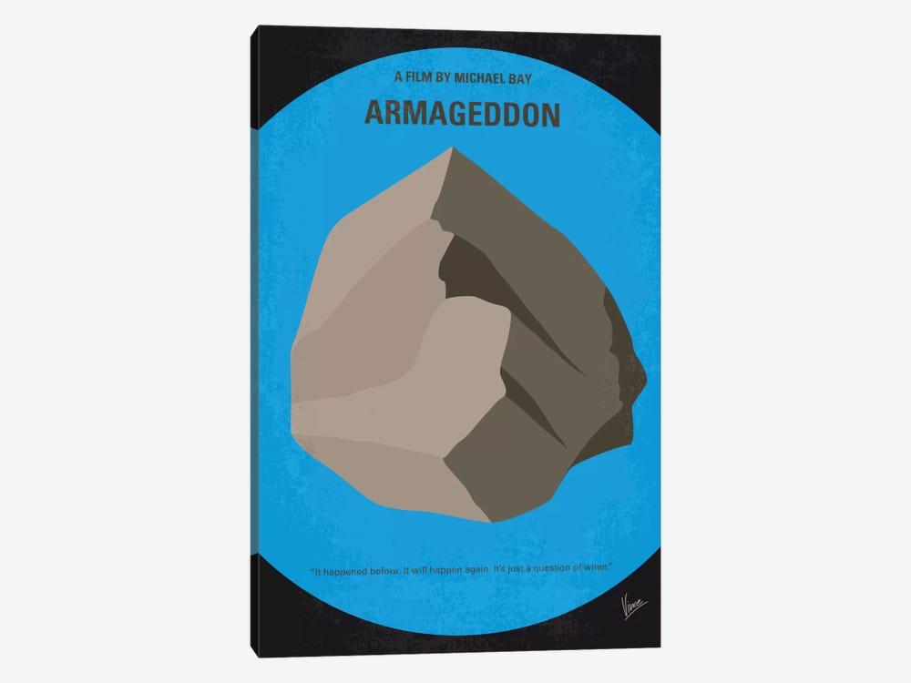 Armageddon Minimal Movie Poster by Chungkong 1-piece Canvas Art Print