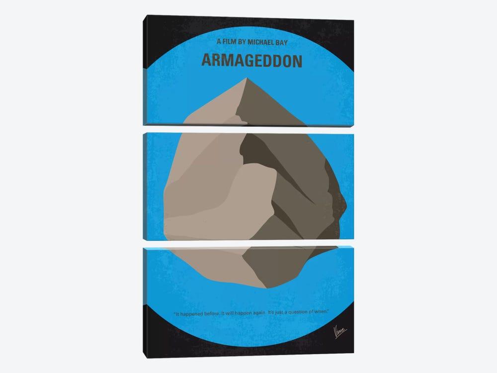 Armageddon Minimal Movie Poster by Chungkong 3-piece Art Print